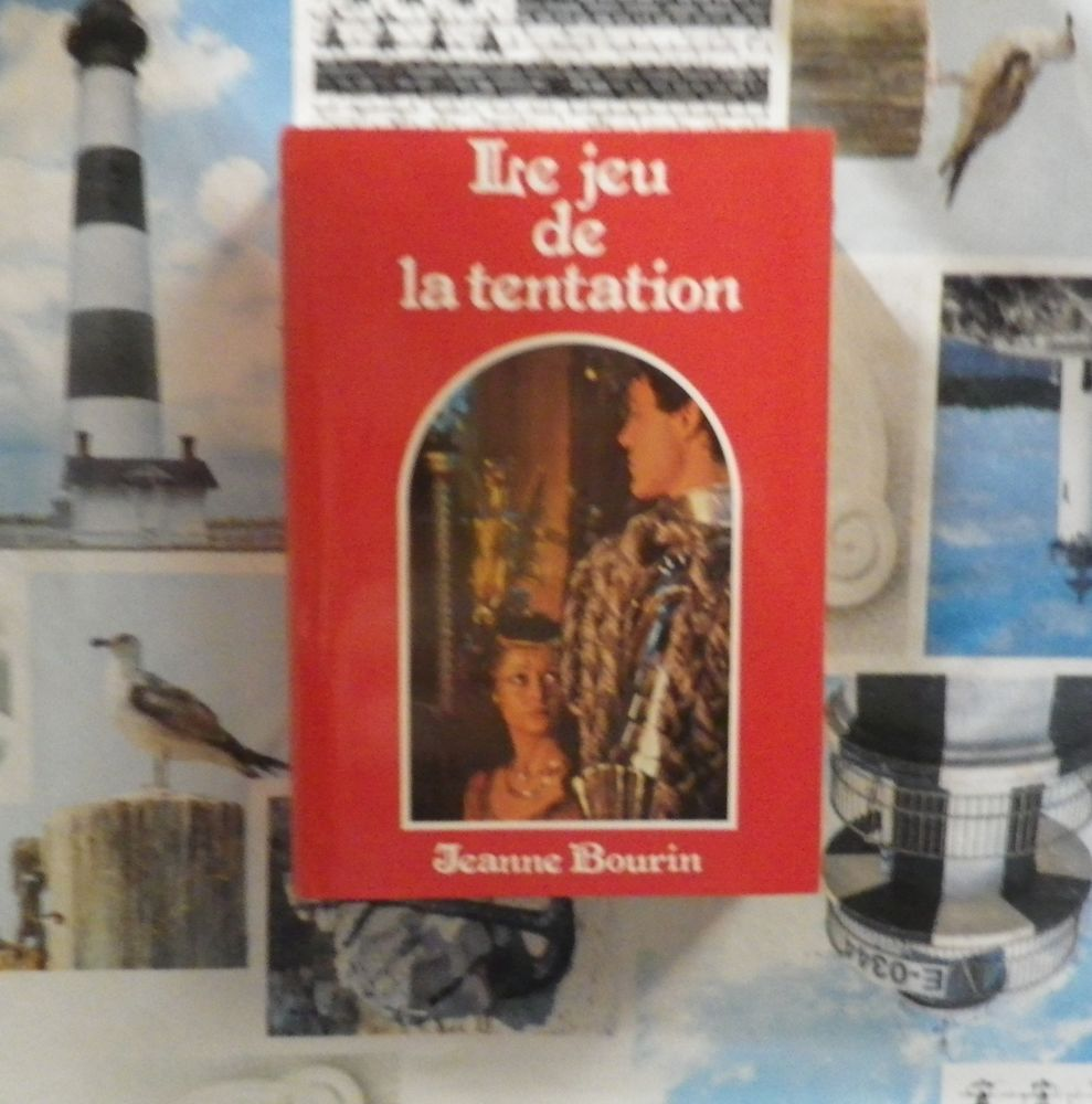 LE JEU DE LA TENTATION de Jeanne BOURIN Ed. France Loisirs 4 Bubry (56)