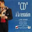 'CD' À La Tentation Love Songs Objet Publicitaire Philips