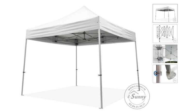 Tente barnum pliant alu blanc 3m × 3m 270 Rueil-Malmaison (92)