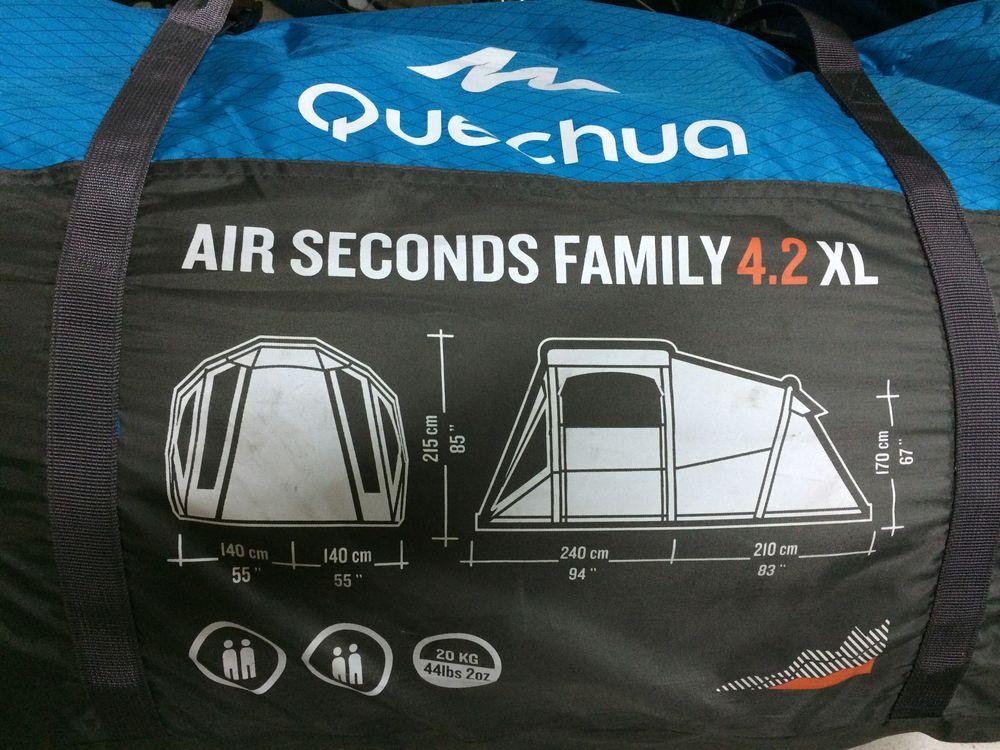 Tente quechua air seconds Family 4.2 XL 300 Bilwisheim (67)