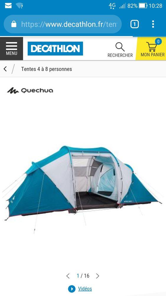 tente et Séjour Quechua Sports