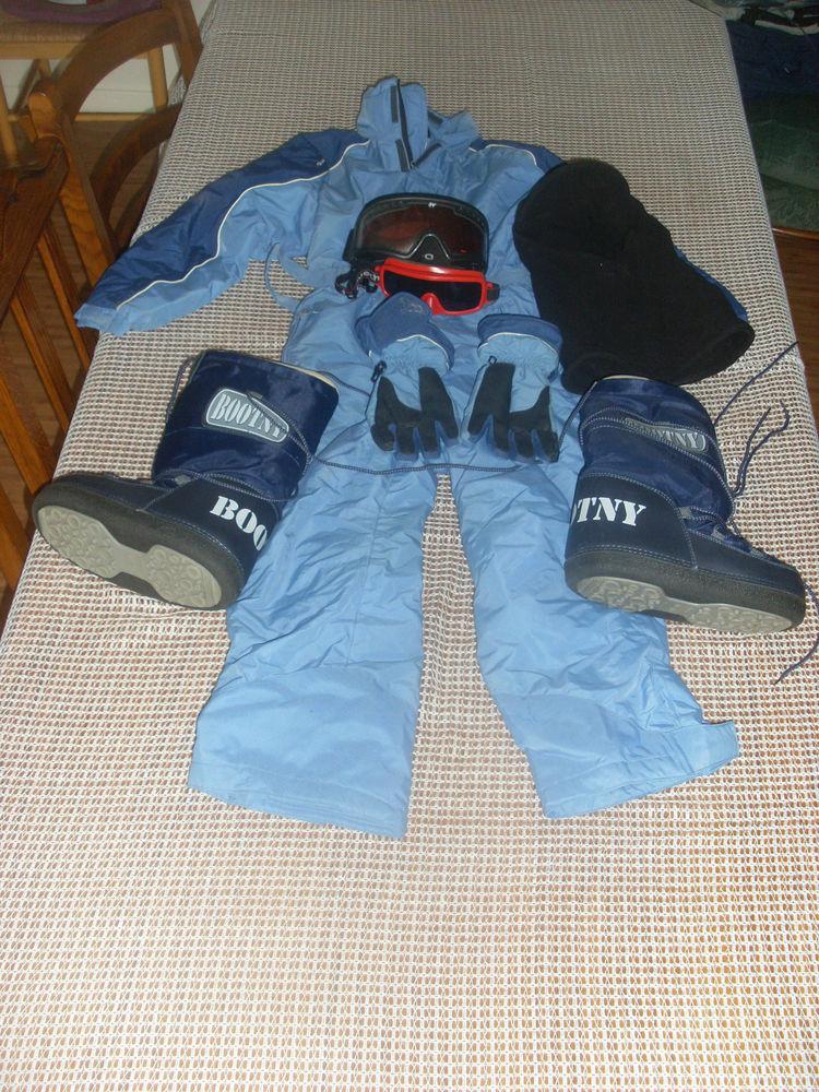 Tenue de ski fille 130 Hénin-Beaumont (62)