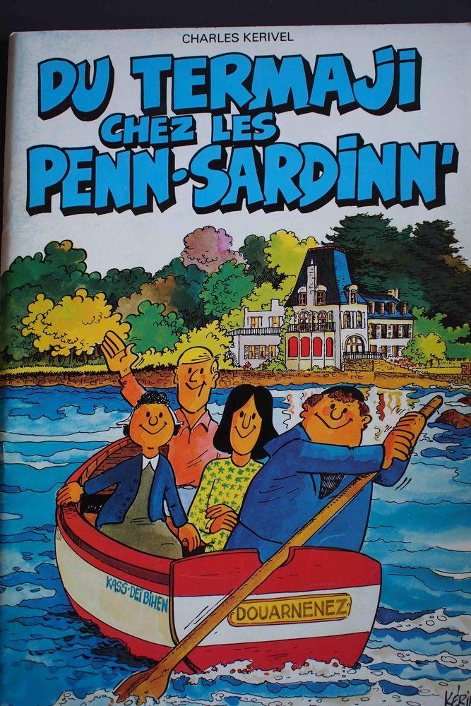 Du termaji chez les Penn-Sardinn' Livres et BD