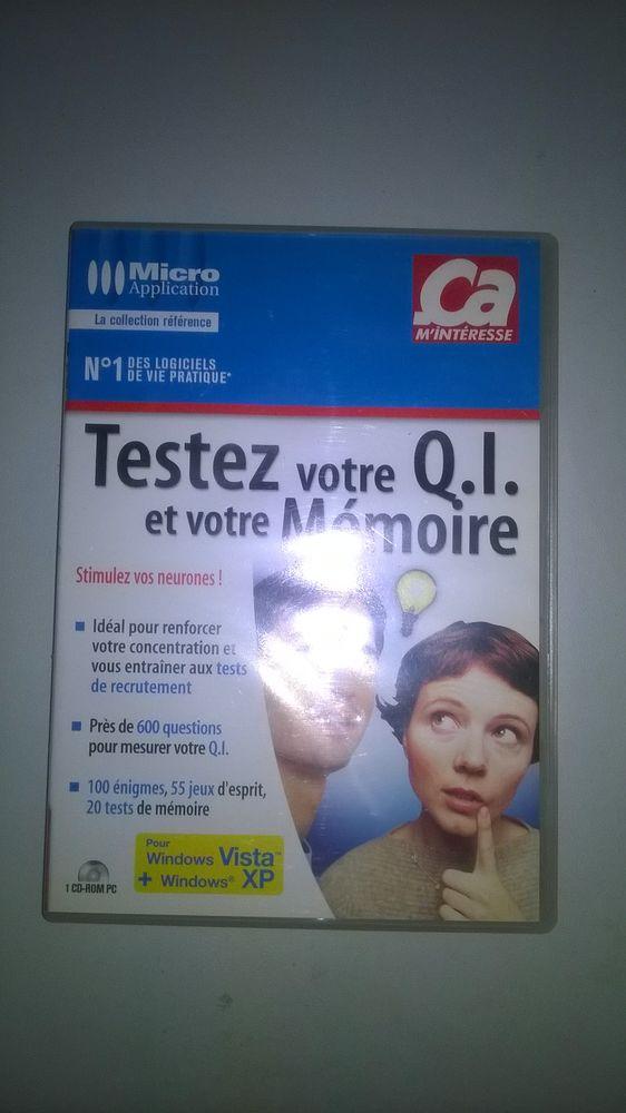 TEST de QI et MEMOIRE sur PC 2 Talange (57)
