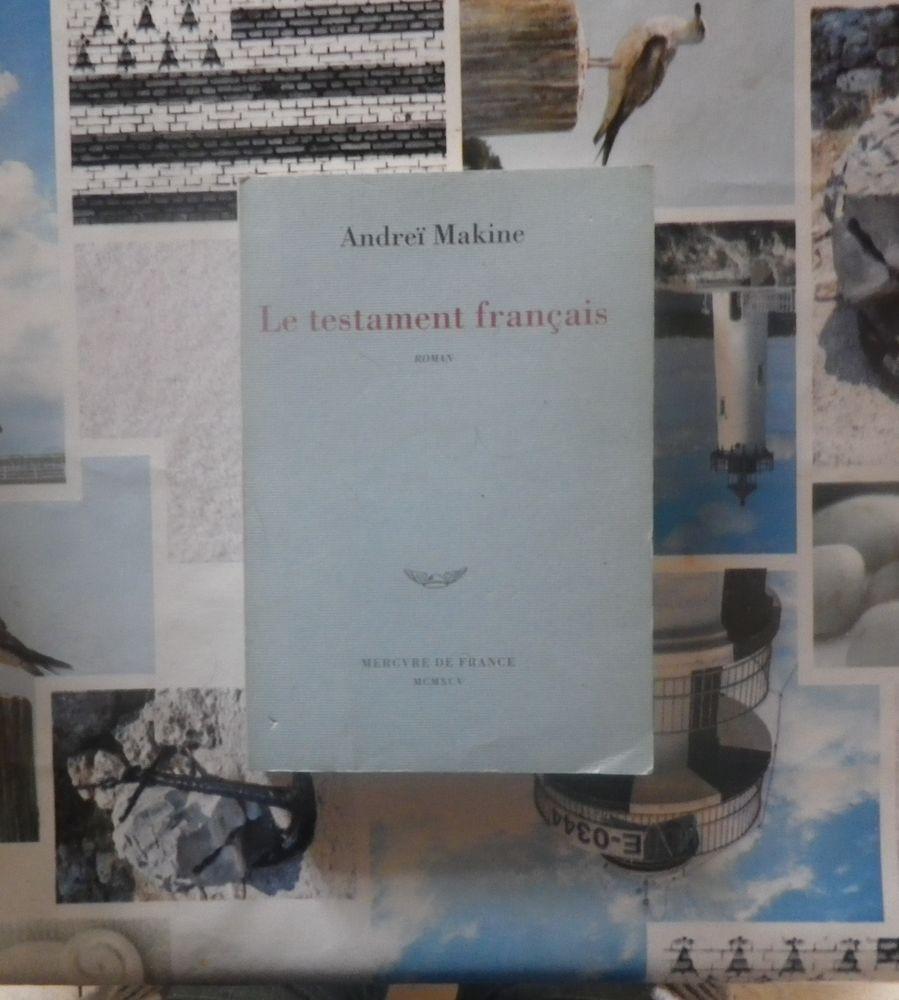 LE TESTAMENT FRANCAIS de Andreï MAKINE Ed. Mercure de France 5 Bubry (56)