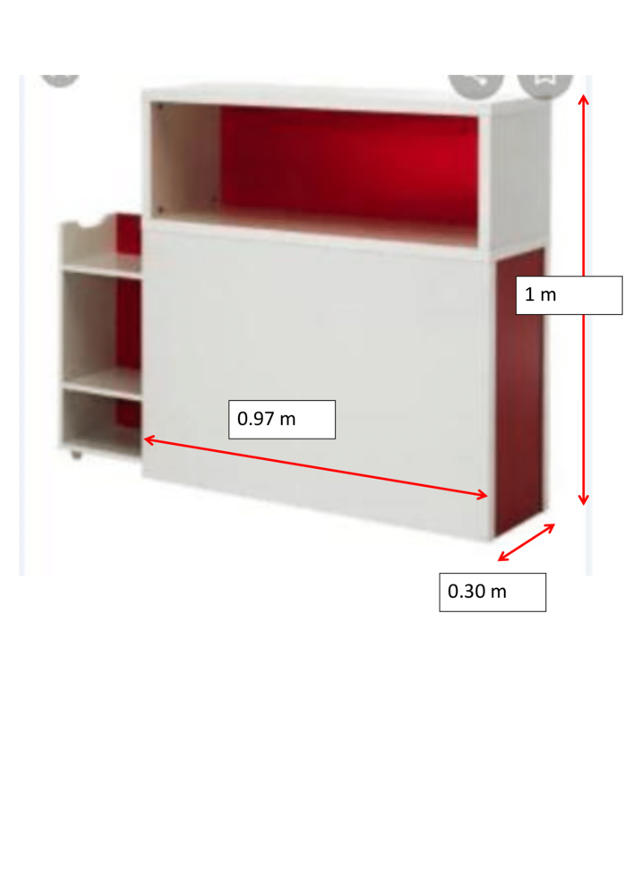 Tete de lit IKEA avec rangement 45 Courbevoie (92)