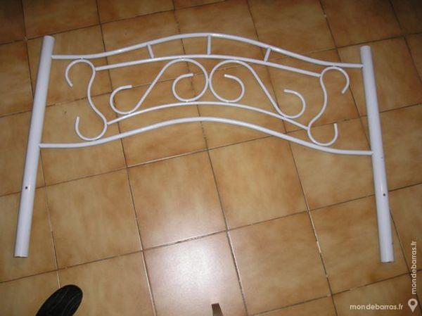 Tête de lit métal blanc 1 personne 10 Septèmes-les-Vallons (13)