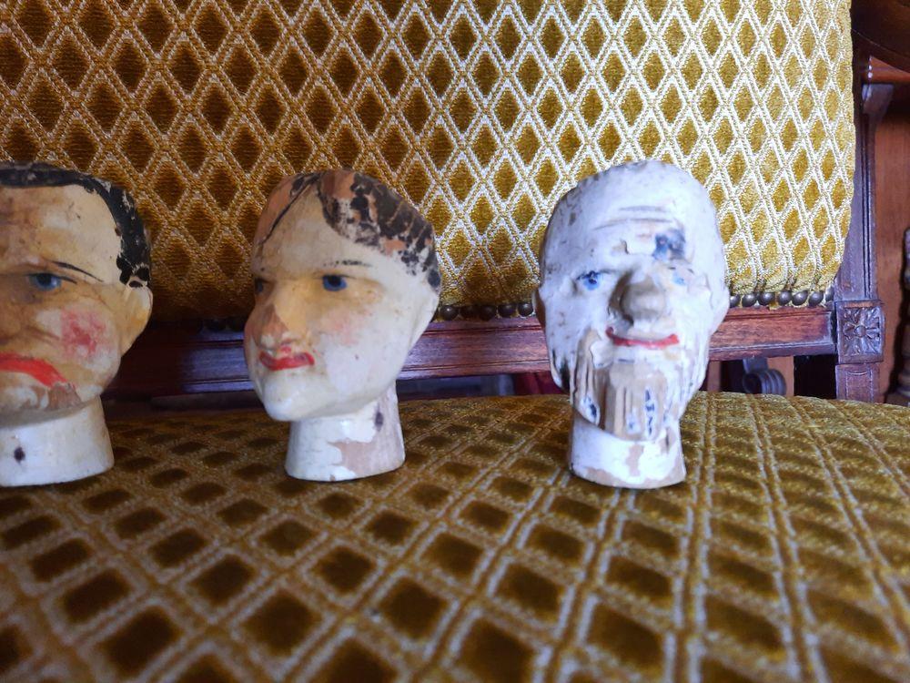 Têtes de marionnettes. Occasion Jeux / jouets