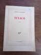 Texaco Patrick Chamoiseau édition Gallimard nrf roman 1992 Livres et BD
