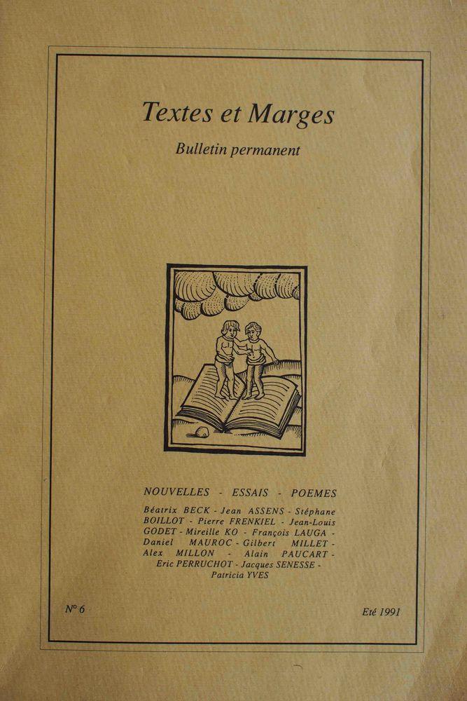 Textes et marges N° 6, 5 Rennes (35)