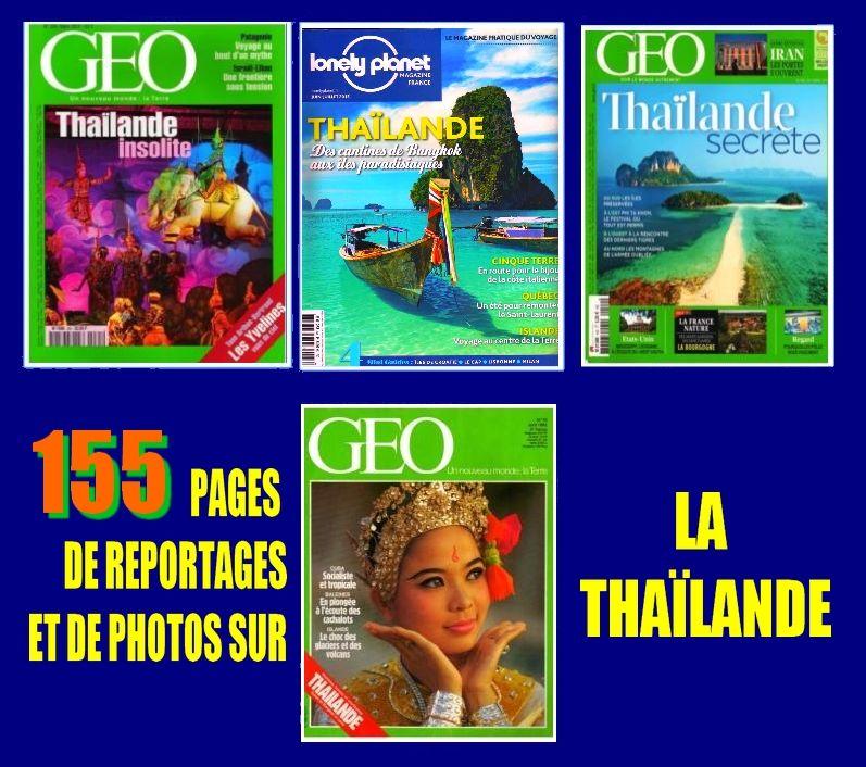 LA THAÏLANDE - géo - BANGKOK / prixportcompris 16 Toulouse (31)