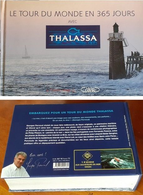 Thalassa, beau livre, collector 17 Paris 19 (75)