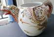 THEIERE en porcelaine du Japon, bec verseur tête de dragon -