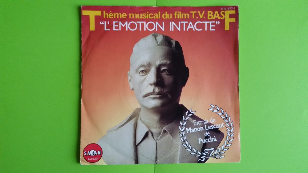 THÉME MUSICAL DU FILM TV .B.A.S.F. CD et vinyles