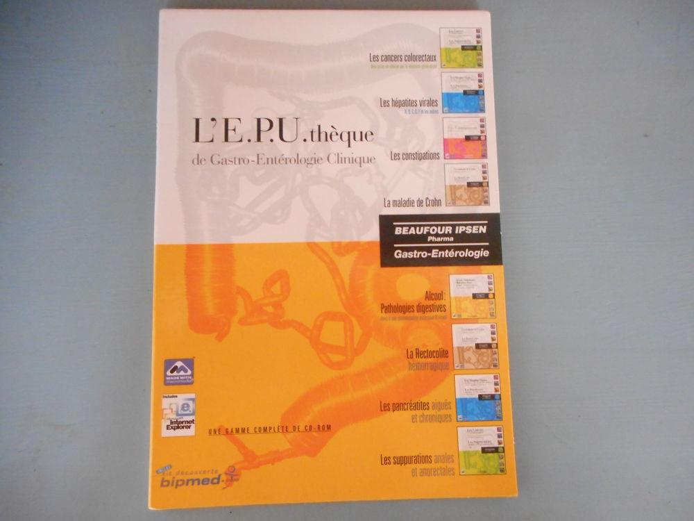 CD Rom E.P.U.thèque gastro entérologie clinique 6 Nieuil-l'Espoir (86)
