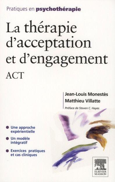 La thérapie d'acceptation et d'engagement Livres et BD