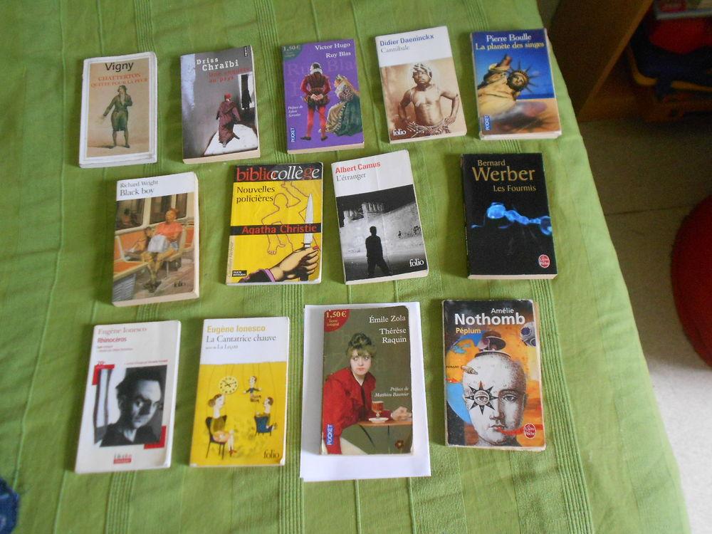Thérèse Raquin la cantatrice chauve et d'autres livres 0 Talence (33)