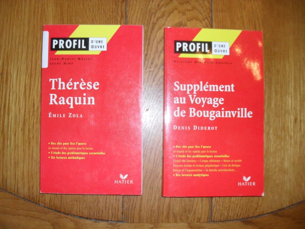Thérèse Raquin/Supplément au Voyage de Bougainville Livres et BD