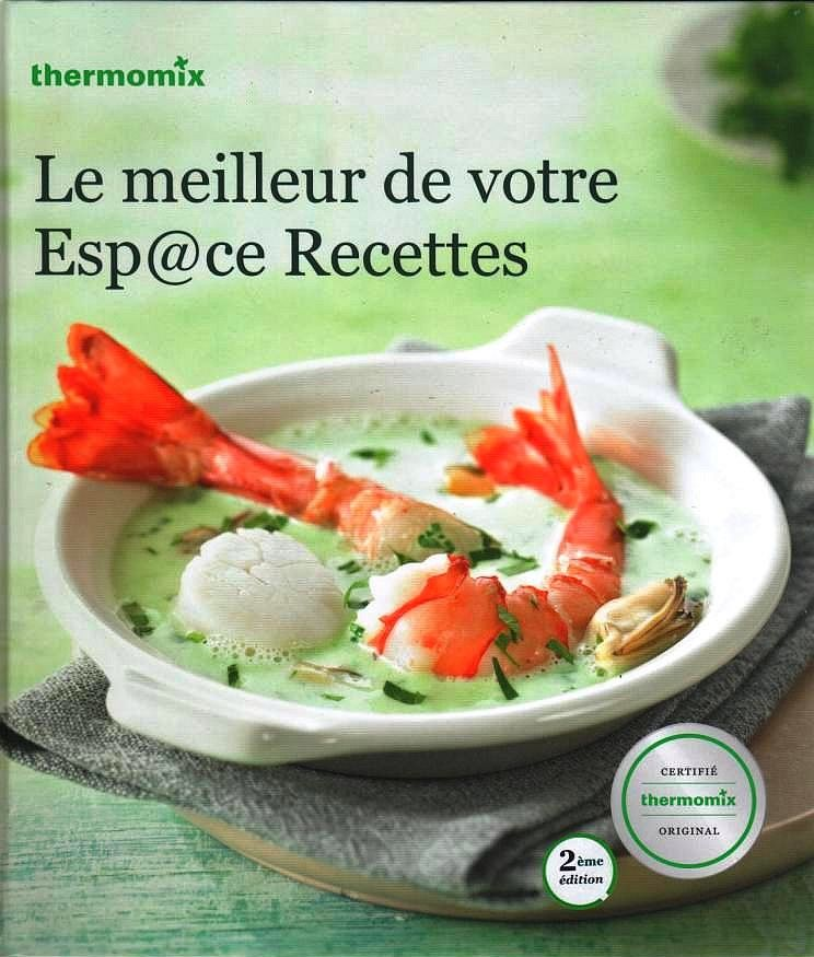 THERMOMIX - guide cuisine - ESPACE RECETTES 25 Lille (59)