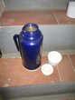 Thermos bleu