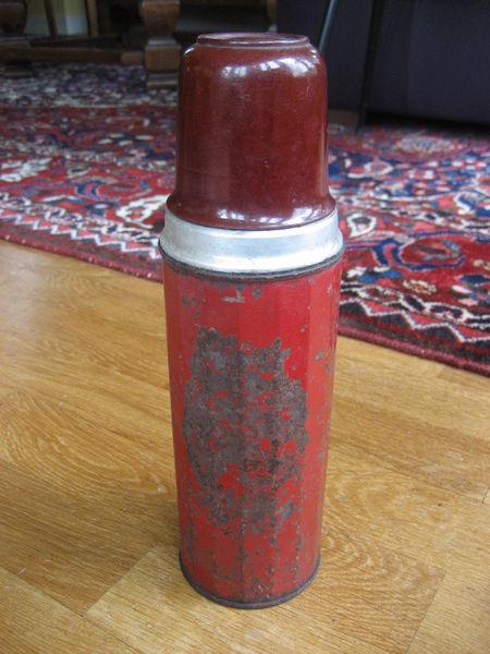 Thermos métal et bakélite SIDRI vintage 20 Nyons (26)