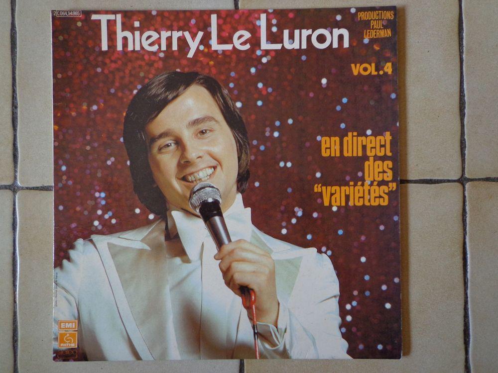 THIERRY LE LURON, 2 vinyles 5 Éragny (95)