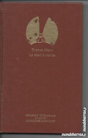 Thomas MANN La mort à Venise 3 Montauban (82)