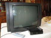 tv thomson analogique + decodeur numerique 20 Pont (21)