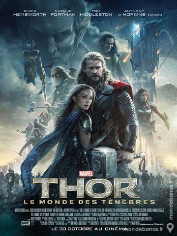 THOR Affiche de Cinéma 120x160 cm Marvel 50 Maisons-Alfort (94)