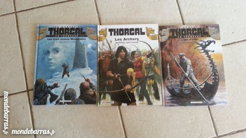 Lot de 3 BD Thorgal 15 Simiane-Collongue (13)