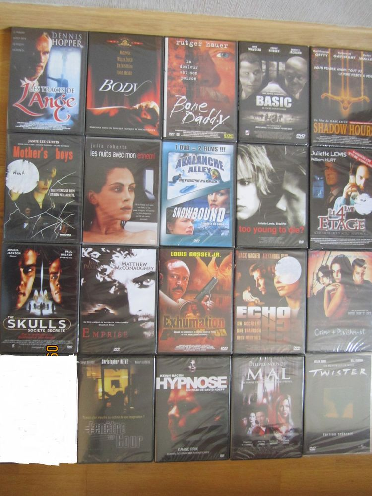 DVD thriller / catastrophe 15 Éleu-dit-Leauwette (62)