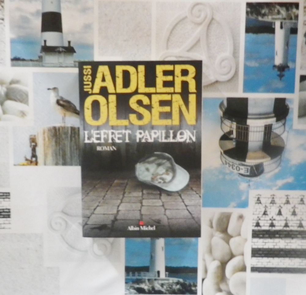 THRILLER L'EFFET PAPILLON de Jussi ADLER OLSEN 5 Bubry (56)