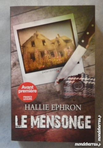 THRILLER LE MENSONGE de Hallie EPHRON 5 Attainville (95)