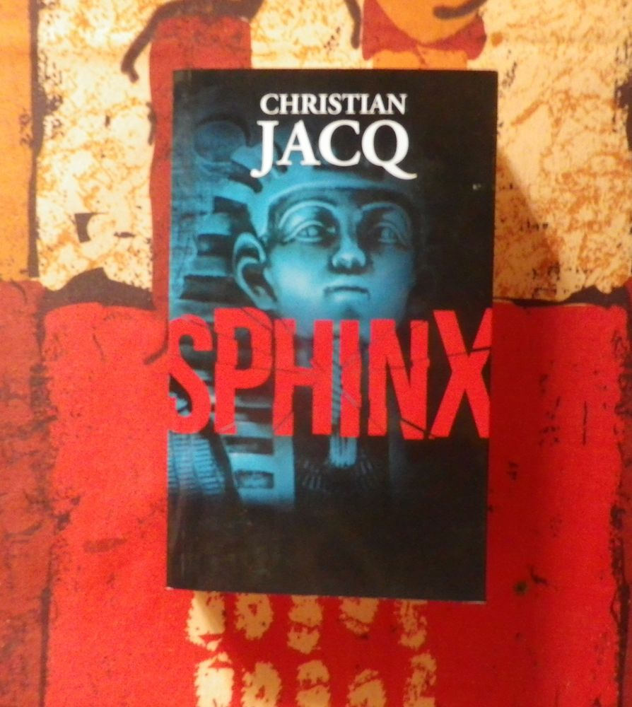 THRILLER SPHINX de Christian JACQ France Loisirs Livres et BD