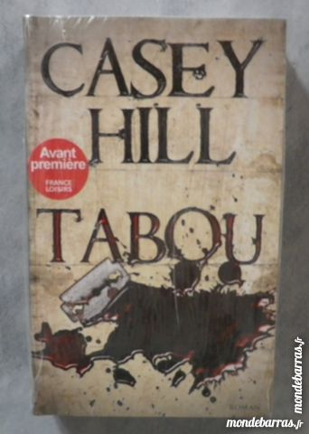 THRILLER TABOU de Casey HILL NEUF SOUS BLISTER 8 Attainville (95)