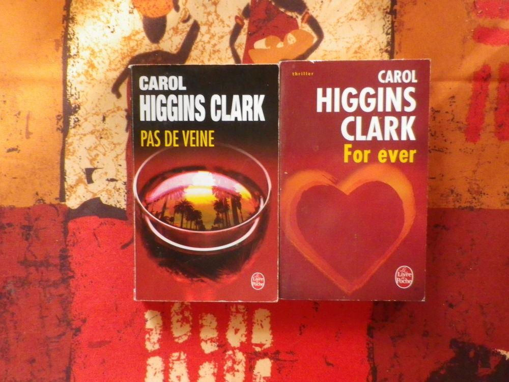 LOT DE 2 THRILLERS DE CAROL HIGGINS CLARK (ou à l'unité) 4 Bubry (56)