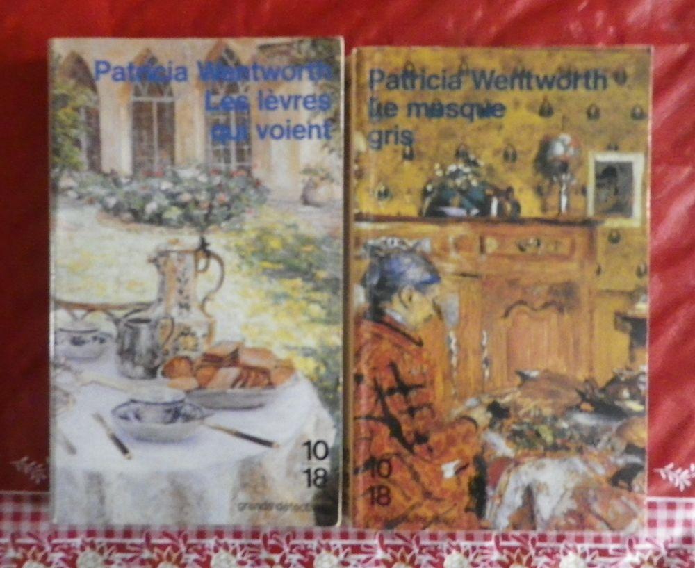 2 THRILLERS de Patricia WENWORTH 4 Attainville (95)