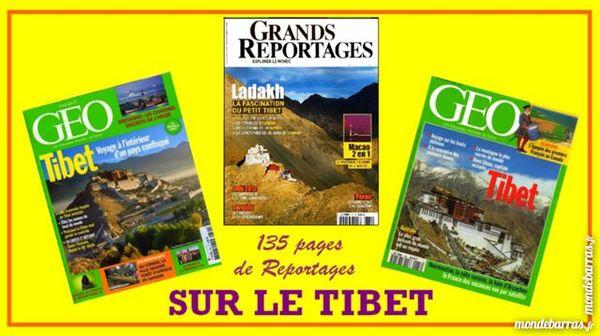 TIBET - LHASSA - LADAKH - GEO / les-livres-de-jac Livres et BD