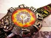 Tibétaine MANDALA montre édition limitée 2001 ANQ1003 75 Metz (57)
