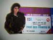 ticket concert mickael Jackson bad tour 1988 TBE