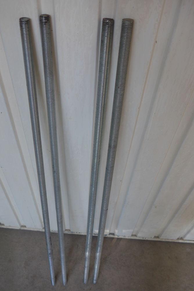 Lot de 2 tiges filetées Ø18 mm en acier zingué  10 Saint-Florent-le-Vieil (49)