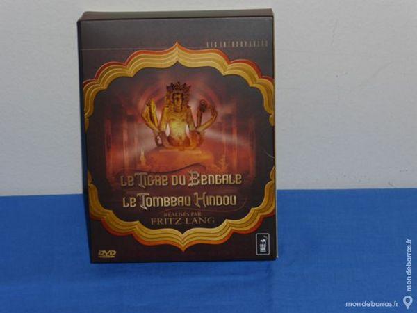5 DVD Le Tigre du Bengale et Le tombeau Hindou 40 Créteil (94)