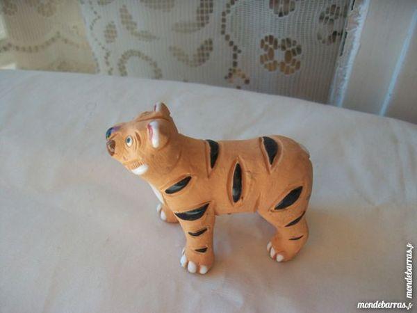 Tigre céramique vintage collection artisanat 10 Thizy (69)