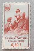 Timbre bienfaisance 81 1 Joué-lès-Tours (37)