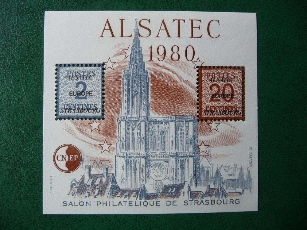 timbre  bloc  cnep  1983  n  4A  neuf** 3 Fabrègues (34)