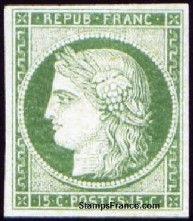 Timbre CERES 950 Boulogne-Billancourt (92)