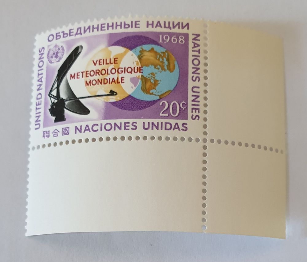 Timbre collection ONU new york - 1968 - 0.40 euro 0 Marseille 9 (13)