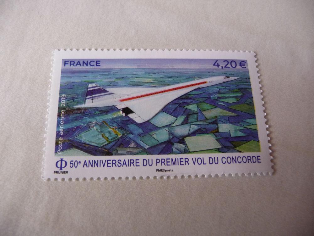 TIMBRE  DE  FRANCE  2021  POSTE  AERIENNE CONCORDE  NEUF** 1 Fabrègues (34)