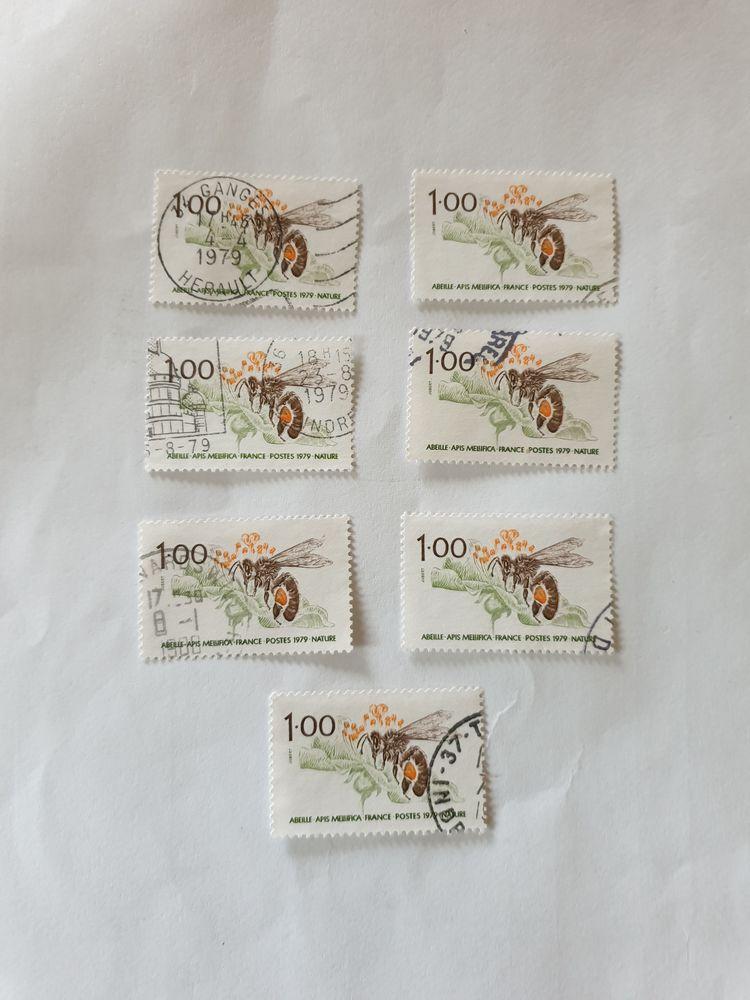 Timbre france L'abeille 1979- lot 0.70 euro
