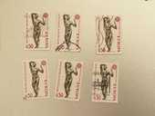 Timbre france L'âge d'airain de Rodin Europa 1974- lot 0.48 0 Marseille 9 (13)